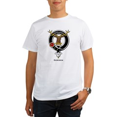 Gordon Clan Crest Badge Organic Men's T-Shirt