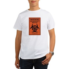 Hazardously Wasted Organic Men's T-Shirt