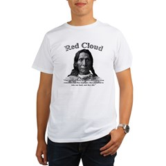 Red Cloud 01 Organic Men's T-Shirt