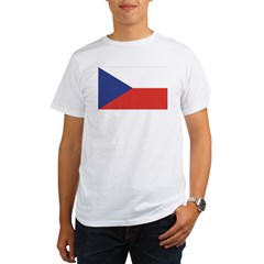 Czech Republic / Czech Flag Organic Men's T-Shirt