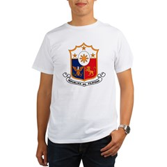 Philippines Coat of Arms Organic Men's T-Shirt