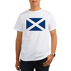 Scottish Flag Organic Men's T-Shirt