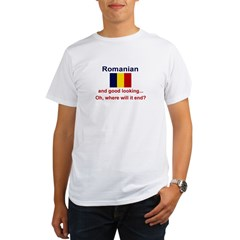 Good Looking Romanian Organic Men's T-Shirt