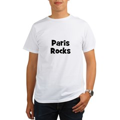 Paris Rocks Organic Men's T-Shirt