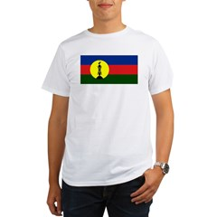 Flag New Caledonia Organic Men's T-Shirt
