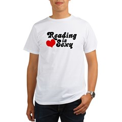Reading is sexy Organic Men's T-Shirt