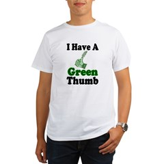 I Have A Green Thum Organic Men's T-Shirt
