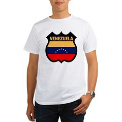 Venezuela Ash Grey Organic Men's T-Shirt