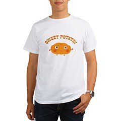 """Sweet Potato"" Organic Men's T-Shirt"