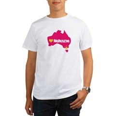 Love Melbourne Organic Men's T-Shirt