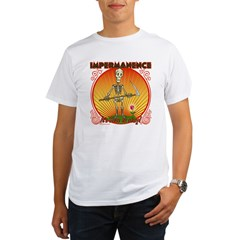 Impermanence4black Organic Men's T-Shirt