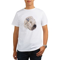 Soft Coated Wheaten terrier Ash Grey Organic Men's T-Shirt