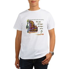 HeWhoSings_8x8transp_apparel Organic Men's T-Shirt