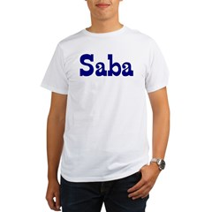 Saba Ash Grey Organic Men's T-Shirt