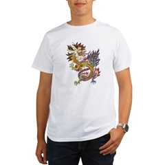 dragon10Black Organic Men's T-Shirt