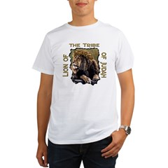 Lion of Judah 11 Ash Grey Organic Men's T-Shirt