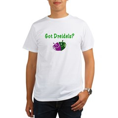 Got Dreidels Hanukkah Organic Men's T-Shirt