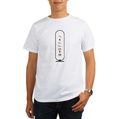"Jeffrey in Hieroglyphics ""Col Organic Men's T-Shirt"