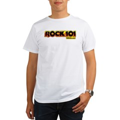 ROCK101 Ash Grey Organic Men's T-Shirt