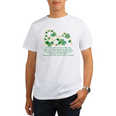 Irish Blessing Ash Grey Organic Men's T-Shirt