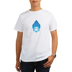 blue buddha Organic Men's T-Shirt