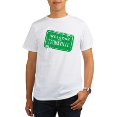 Welcome to Tromaville Organic Men's T-Shirt