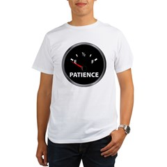 Out of Patience Fuel Gauge Organic Men's T-Shirt