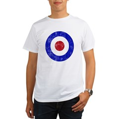 Sixties Mod Emblem Organic Men's T-Shirt