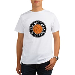 Basketball Is My Life Organic Men's T-Shirt