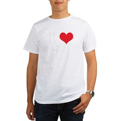 I Heart RI Organic Men's T-Shirt