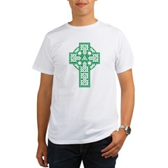 Celtic Cross Organic Men's T-Shirt