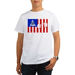 Flag Organic Men's T-Shirt