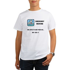 Emergency Medicine Organic Men's T-Shirt