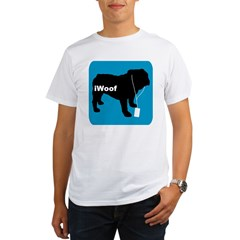 iWoof Bulldog Organic Men's T-Shirt
