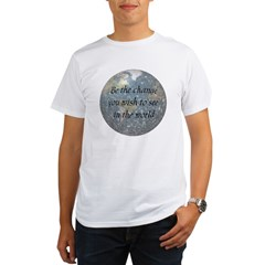 Be the change... Organic Men's T-Shirt