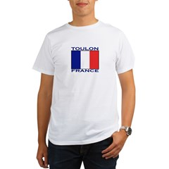 Toulon, France Organic Men's T-Shirt