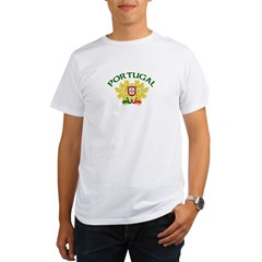 Portugal Coat of Arms Organic Men's T-Shirt