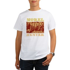 morel mushroom hunter gifts Organic Men's T-Shirt