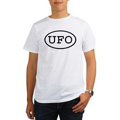 UFO Oval Organic Men's T-Shirt