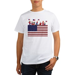 July 4th Organic Men's T-Shirt