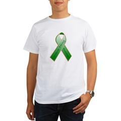 Cerebral Palsy Ribbon Organic Men's T-Shirt