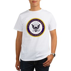 Navy Veteran Organic Men's T-Shirt