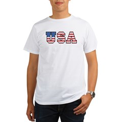 USA [stars&amp;stripes] Organic Men's T-Shirt