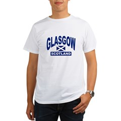 Glasgow Scotland Organic Men's T-Shirt