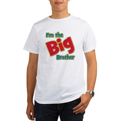 T I'm the Big Brother Organic Men's T-Shirt