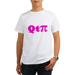 q-t-pie3 Organic Men's T-Shirt