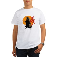 Samurai Warrior Organic Men's T-Shirt