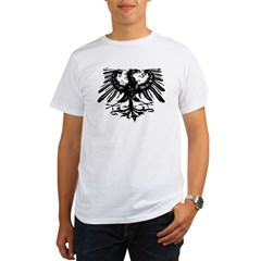 Gothic Prussian Eagle Organic Men's T-Shirt