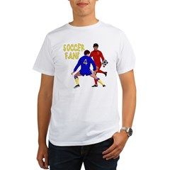 ...Soccer Fan... Organic Men's T-Shirt