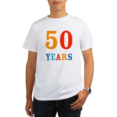 50 Years! Organic Men's T-Shirt